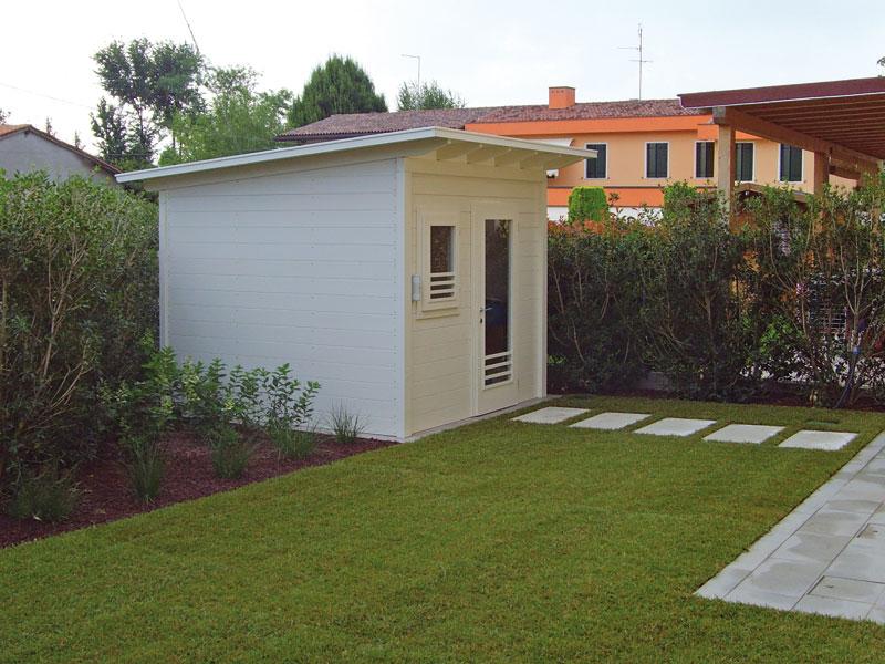 Giardini case moderne free gli svantaggi di una casa con - Casette da giardino moderne ...