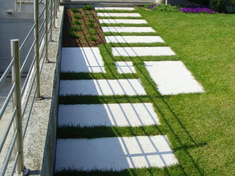 Grande giardini in pietra mf68 pineglen - Pavimentazione giardino in pietra ...