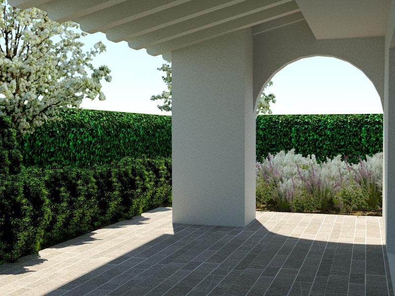 Architettura di giardini a padova vicenza treviso e - Costruire lampade da giardino ...