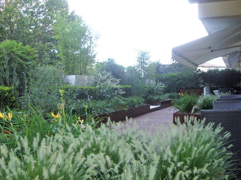 terrazza-fiorita - Giardini Cesare Pavin